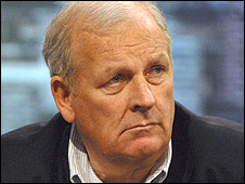 Sun editor Kelvin McKenzie, creator of the crying boy legend (Credit: BBC news)