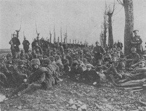 Captured Russian troops including Cossacks in Galicia (credit: www.firstworldwar.com)