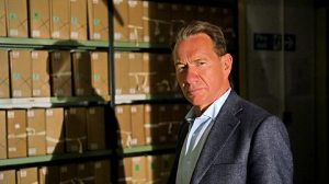 Michael Portillo at the National Archives (credit: BBC)