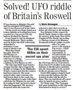 Sunday Express 3 May 2015