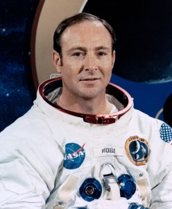 Edgar Mitchell, NASA astronaut and the sixth man to walk on the moon (credit: Wikipedia)