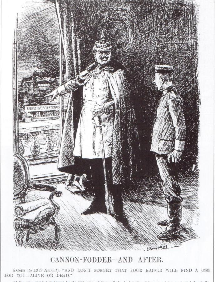 Punch cartoon from April 1917.